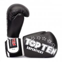 "Перчатки Бокс TOP TEN Superfight 3000 ""Stars"""