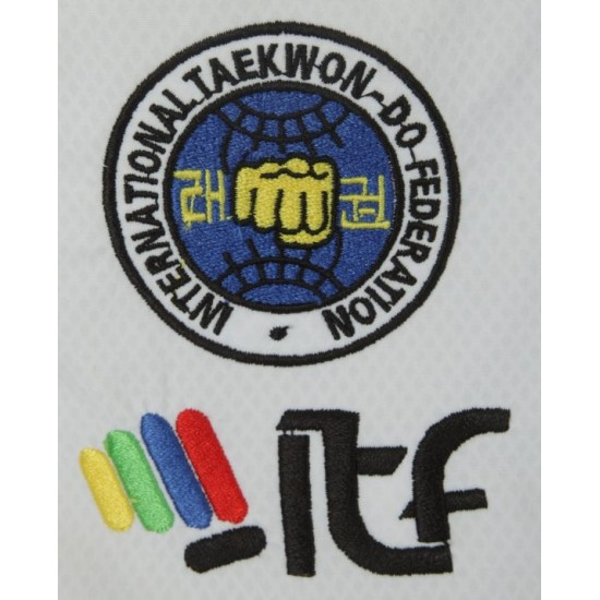 "Добок TOP TEN Таеквондо ITF ""Diamond"" 1-3дан (аккредитован ITF)"