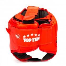 Шлем TOP TEN кожаный AIBA