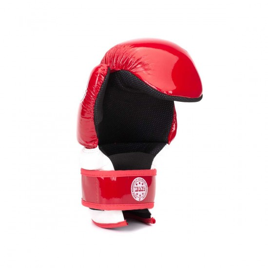 "Перчатки TOP TEN Pointfighter ""Glossy Block"" WAKO"