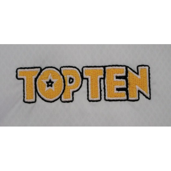 """Добок TOP TEN Таеквондо ITF """"Master Premium Gold"""" 1-3дан (аккредитован ITF)"""