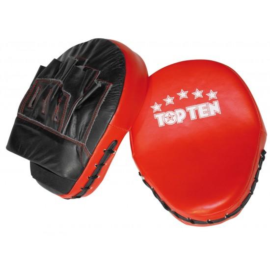 Лапы TOPTEN Черно-Красные (пара)