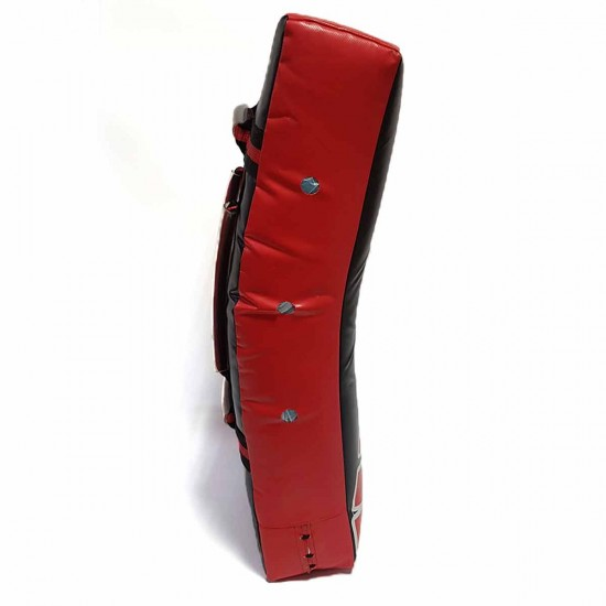 Щит MAXPRO изогнутый Черный с красным
